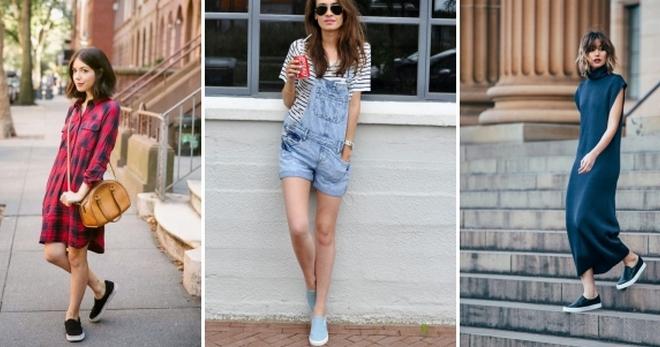С чем носить слипоны – 50 фото модных образов на все случаи жизни