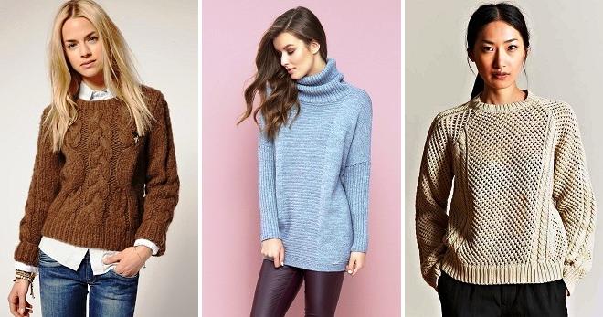 Модные женские свитера 2018 – самые стильные модели и лучшие осенние образы