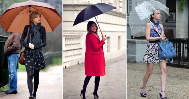 Зонт-трость – как выбрать модный и надежный аксессуар для дождливой погоды?