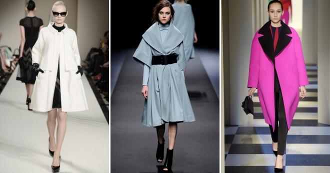 052c4c99354 Стильное женское пальто – модные коллекции 2019