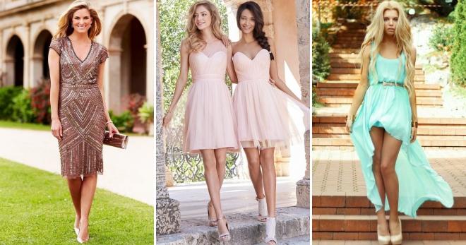 7510cd5845d Платье на свадьбу в качестве гостя – какой наряд выбрать