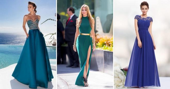 Длинные вечерние платья – 64 фото самых стильных моделей на любой вкус