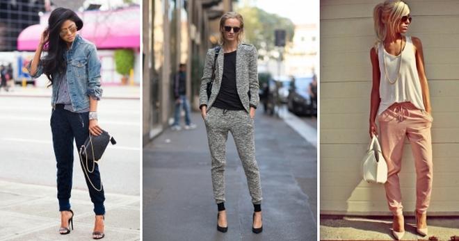 dcaf9e94bc7 Штаны джоггеры – модная одежда для образов в уличном стиле