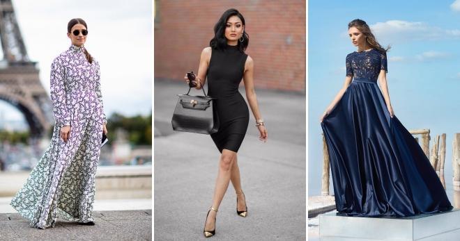 Закрытые платья – правила создания модных строгих и сдержанных образов