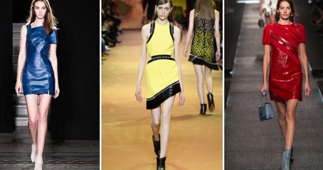 С чем носить кожаное платье – 42 модных сочетания для любого случая