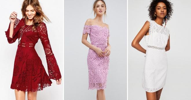 Ажурное платье – топ-60 красивых моделей на все случаи жизни