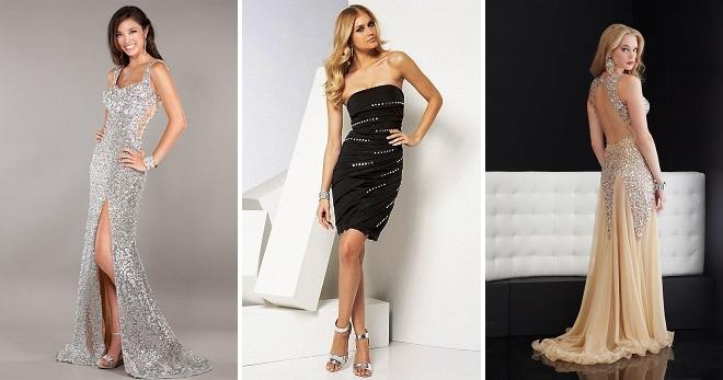 Платье со стразами – must-have для современной городской модницы