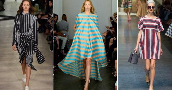 Платье в полоску – 70 фото модных моделей на каждый день и для особых случаев
