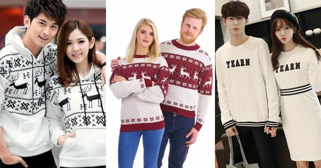 Парные свитера – модный тренд для создания самых стильных образов