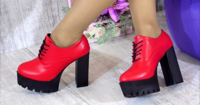 2bbc0682b Ботильоны на тракторной подошве – модная обувь на каждый день и для особых  случаев