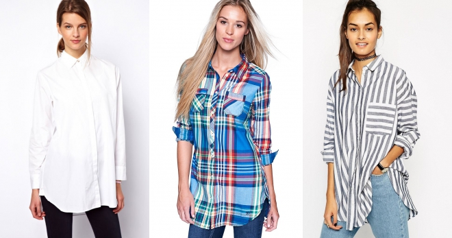 Женская длинная рубашка – как и с чем носить, чтобы выглядеть модно?