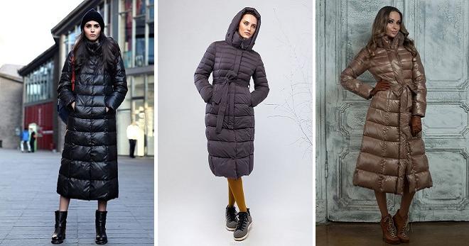 Пальто пуховик – 32 фото самых модных длинных и коротких моделей