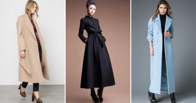 Женское длинное пальто – с чем носить, чтобы выглядеть модно в этом сезоне?