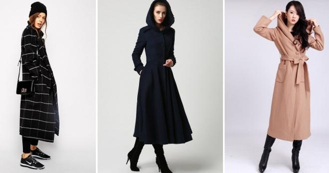 Apa yang akan dikenakan dengan mantel panjang - foto 42 dari gambar paling modis di musim ini