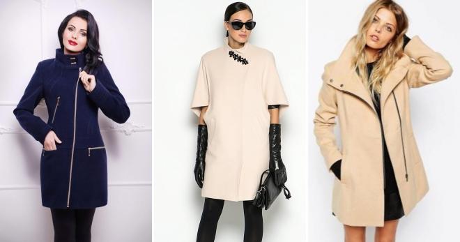 Женское пальто на молнии – с чем носить, как подобрать обувь и аксессуары?
