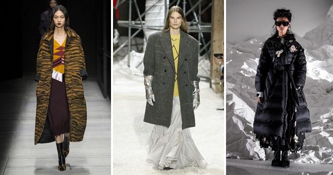 Модна зима 2019 - главните трендови и трендови на сезоната