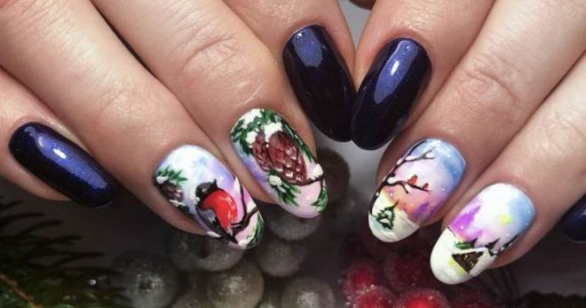 Manicure Winter 2019 - 50 fotos de las ideas más modernas de la temporada.
