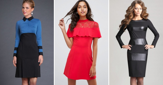 Vestidos combinados - top 50 de los estilos e imágenes más de moda