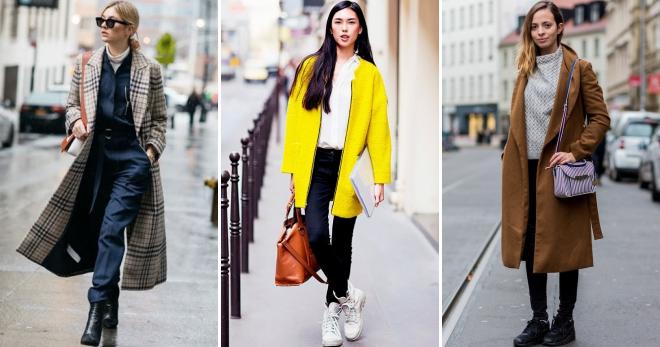 С чем носить пальто – 22 фото самых модных сочетаний на любой сезон