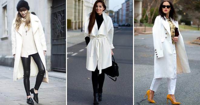 كيفية ارتداء معطف أبيض - قواعد لخلق صورة أنثى عصرية