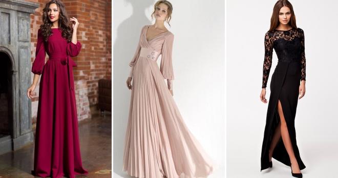 Vakarinės suknelės su rankovėmis - elegantiškos ir prabangios suknelės ypatingoms progoms