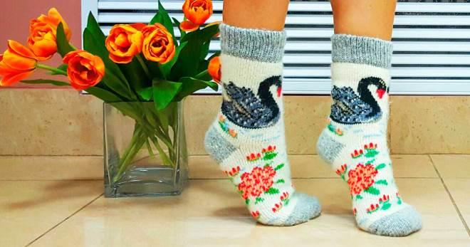Varm sokker - hvordan velge det beste paret for vinteren?