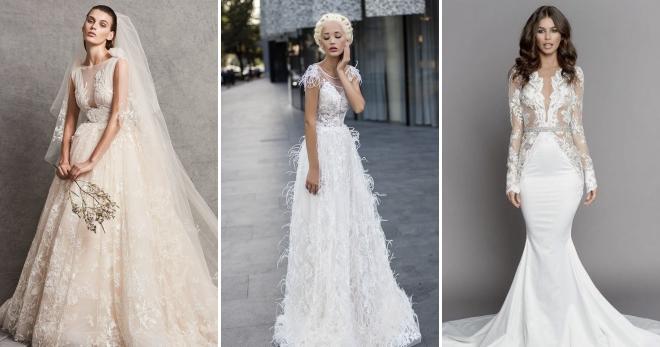 21c13426ac1 Свадебная мода 2019 – модные тенденции