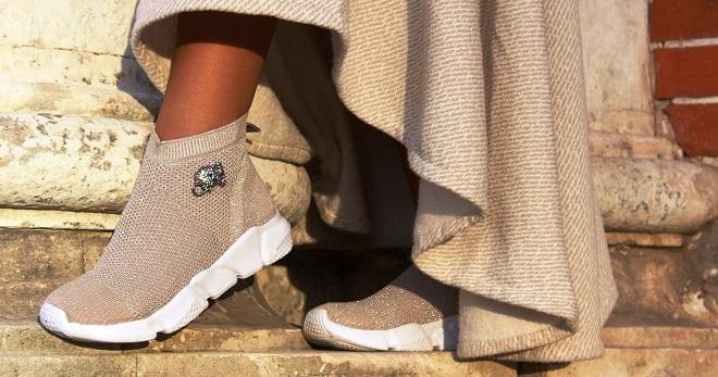 240a57cc Кроссовки-носки – 30 фото самых популярных моделей от известных брендов