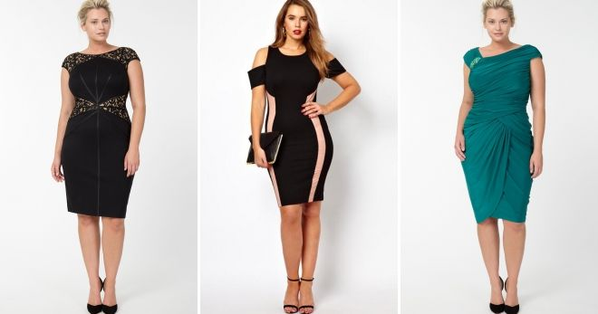 Sheath dress for the full - the secrets of creating the perfect image