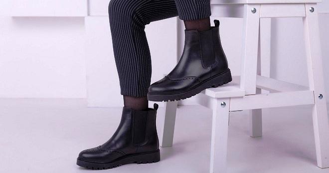 चेल्सी जूते - फैशनेबल शहरी छवियों के लिए स्टाइलिश जूते