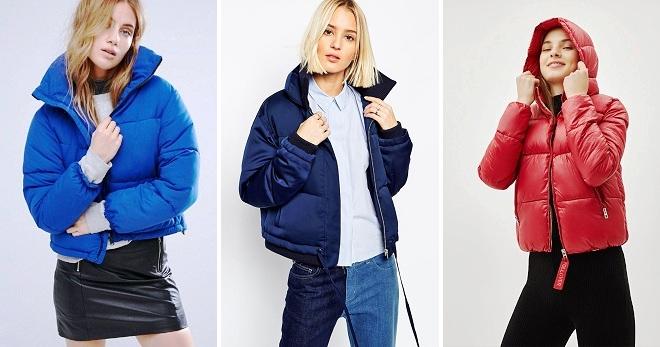 Дутая куртка – 30 фото самых модных женских моделей этого сезона