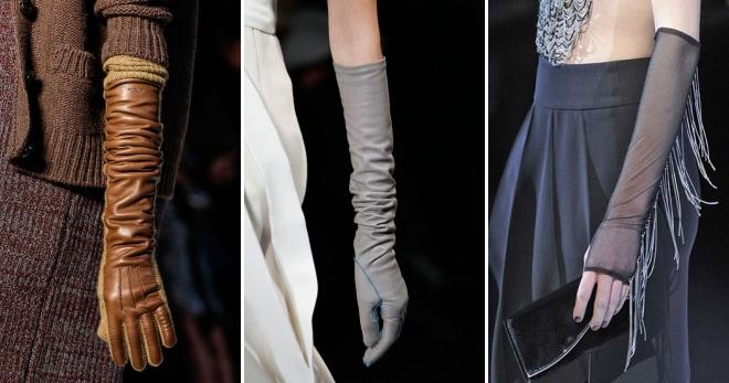 Langer Handschuucht - wat Dir maacht Iech modern a elegant ze kucken?