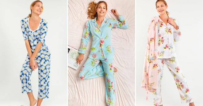 4b22167b1a41 Красивые женские пижамы – шелковые, атласные, фланелевые, флисовые ...