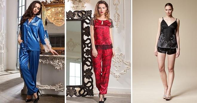 4454ff4dde5 Шелковая пижама – модная и красивая одежда для сна
