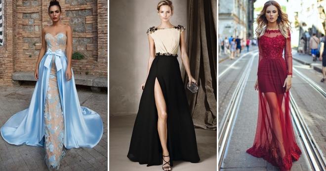 eb303382f9ab Платья на выпускной 2019 – модные тенденции, цвета, тренды, фасоны