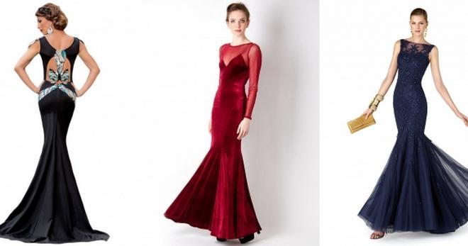 f819e680985 Платье-русалка – кому подходит и с чем сочетать