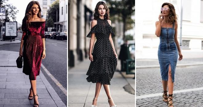 b28a0081f92 Модные платья 2019 – более 10 фото стильных моделей на каждый день и для  особых случаев