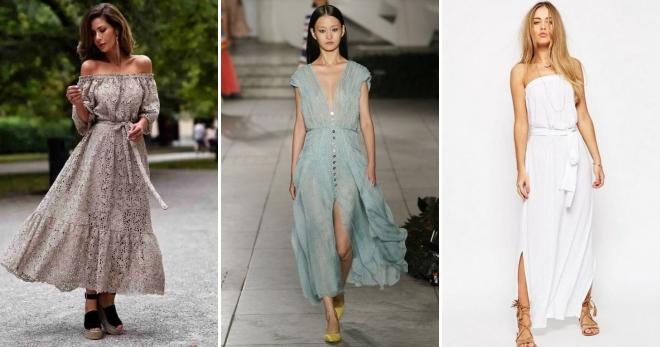 f7532327242ad53 Модные платья весна-лето 2019 года – тенденции, коллекции, тренды, цвета