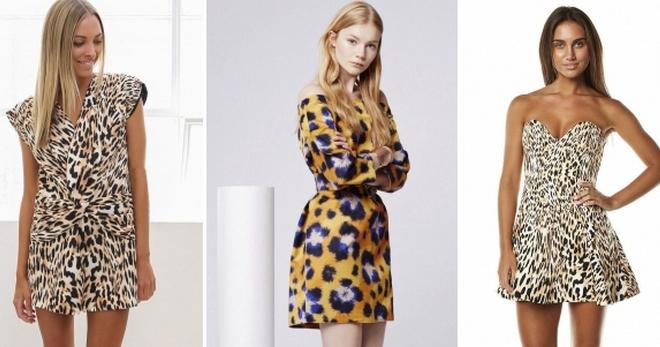 c7a983e57ade2c5 Леопардовое платье – рубашка, шифоновое, с запахом, в обтяжку ...