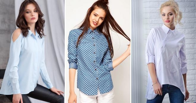 6b2c1fe579b Стильные красивые женские рубашки – туника