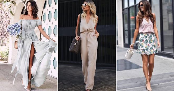 f30c46feb Мода лето 2019 – обзор одежды, обуви и аксессуаров для жаркого сезона