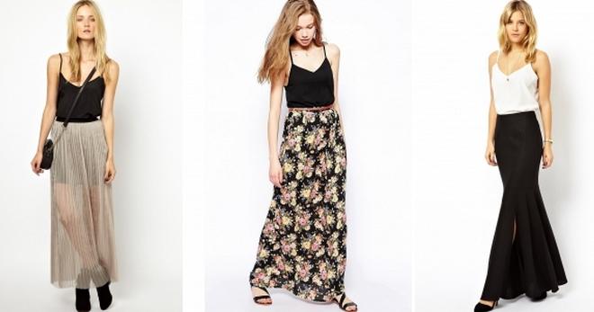 С чем носить длинную юбку – идеи модных образов для девушек и женщин