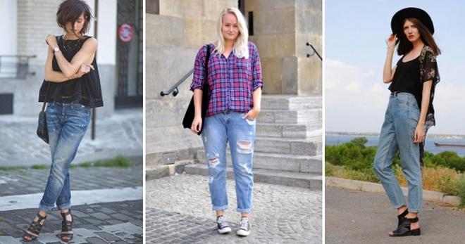 С чем носить джинсы-бананы – идеи для создания модных образов