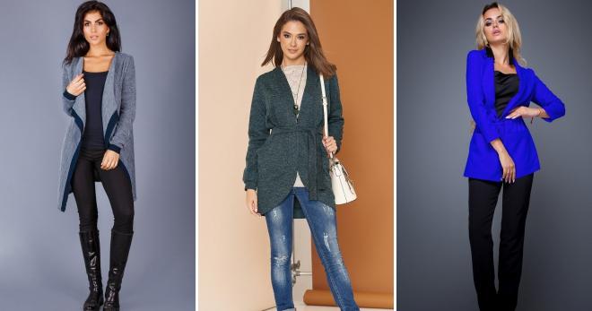 be0e2a93a1708 Модные кардиганы – 2019, вязаные, джинсовые, из мохера, оверсайз ...