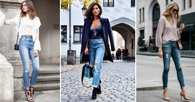 С чем носить рваные джинсы – модные идеи для создания городских образов