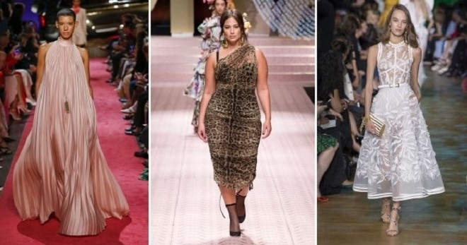 66e2ede29dce387 Модные платья лето 2019 – на каждый день, трикотажные, джинсовые ...