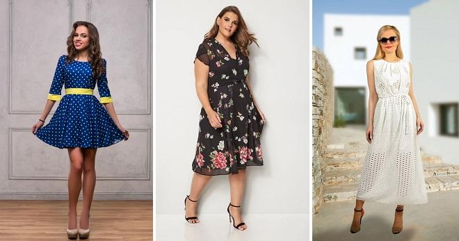 51a84ed6f Летние платья 2019 на каждый день – 60 фото модных моделей на все случаи  жизни