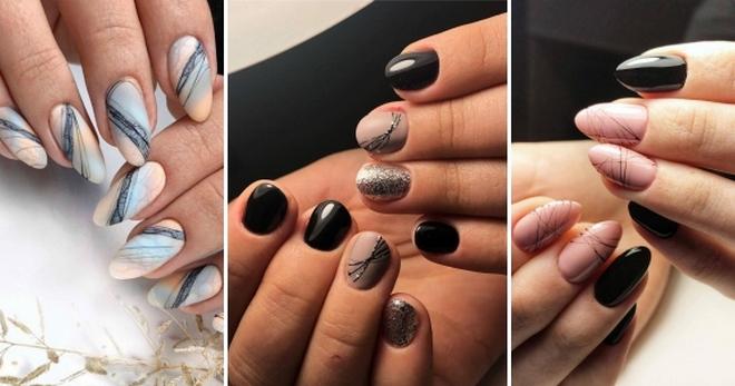 Паутинка на ногтях – модный дизайн на каждый день и для особых случаев