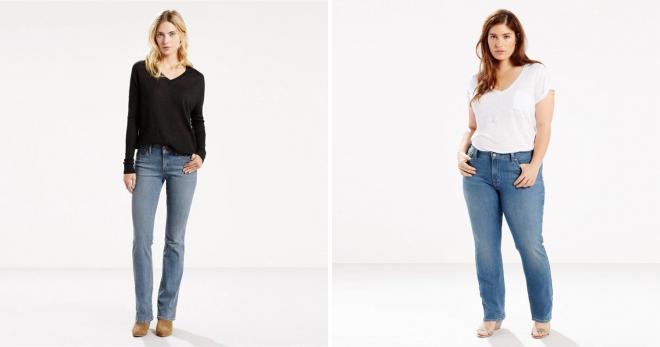 Как подобрать джинсы по фигуре - подборка модных советов для девушек и женщин