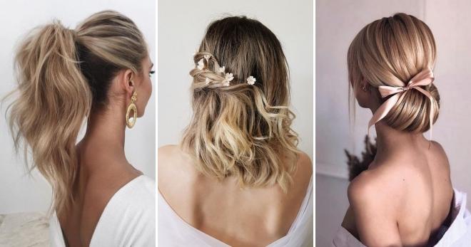 Вечерние прически на средние волосы – подборка идей для самых красивых образов